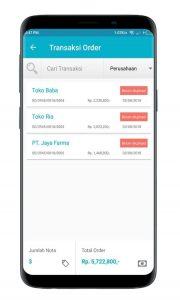 Screenshot SO Mobile Transaksi