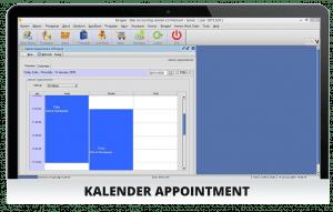 Software Bengkel Kalender Apppointment Gambar