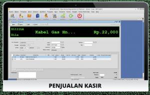 Software Bengkel Screenshot Penjualan Kasir
