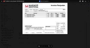 Invoice Terlampir di Email - Email Invoice