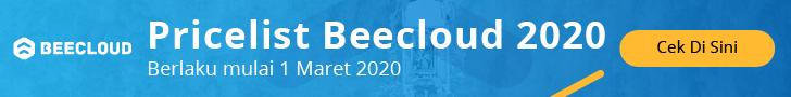 Pricelist Beecloud 2020