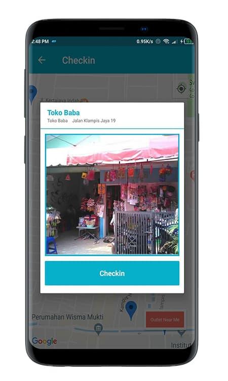 Screenshot SO Mobile CheckIn Foto