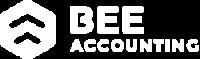 Logo Beeaccounting Putih - Software Akuntansi Custom